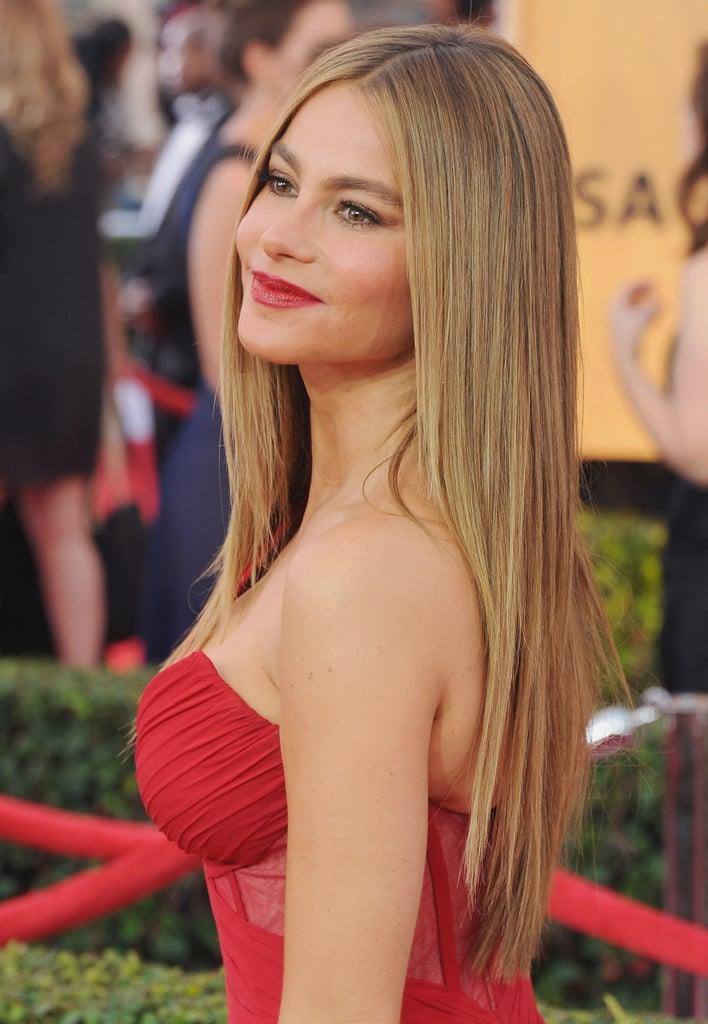 Sophia Vergara's Caramel Blond Hair Color