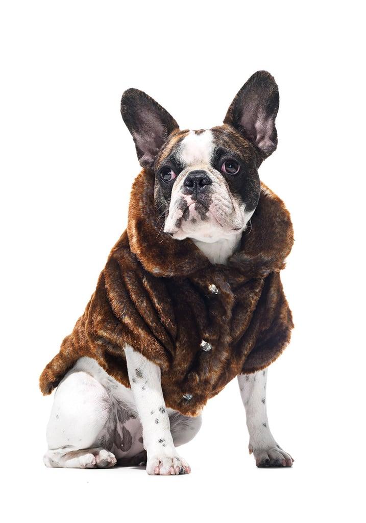 Frontgate Faux-Fur Pet Jacket