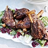 Lamb Shanks With Escarole and Radicchio