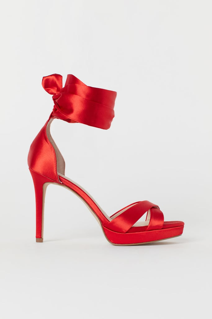 H&M Sandal With Ankle Tie