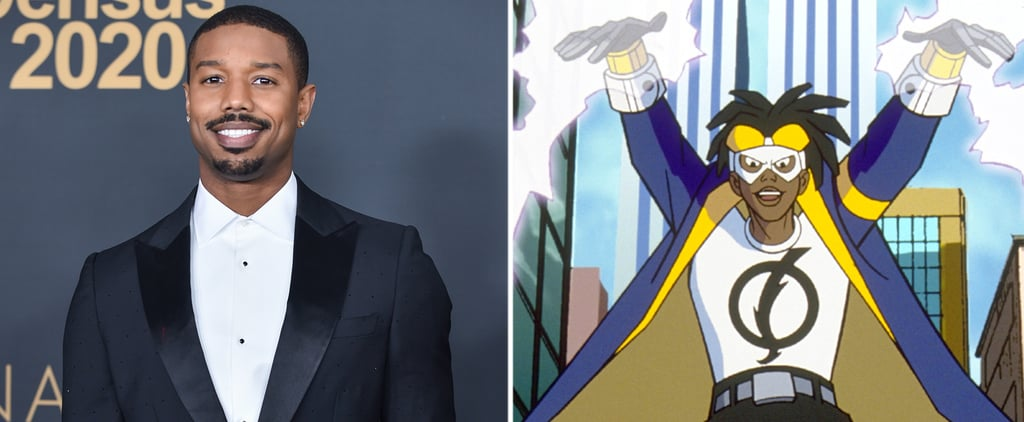 Michael B. Jordan's Static Shock Movie Details
