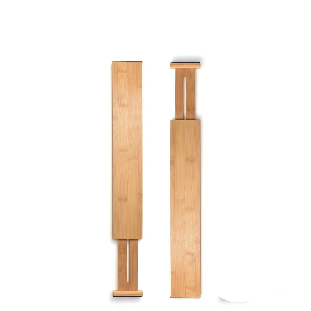 Bamboo Expandable Drawer Divider Organizers