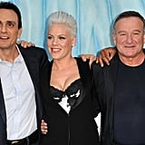 Hank Azaria, Pink and Robin Williams