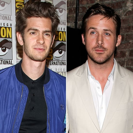 """Looks like Andrew Garfield is a repeat offender! There's no judgment here, though; Andrew can have as many man crushes as he sees fit. During a 2013 appearance on The Tonight Show, Andrew couldn't deny the overbearing sex appeal of Ryan Gosling: """"He's just a dreamboat. It's undebatable. He's just stunning. Not only physically, but in terms of talent — a general sex appeal that he has."""""""