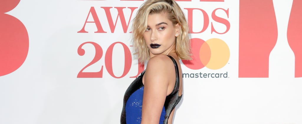 Hailey Baldwin's Ralph Lauren Dress Brit Awards 2018