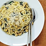 Easy Vegetarian Recipe: Linguine With Kale and Chickpeas
