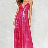 Nasty Gal Good Times Sequin Dress