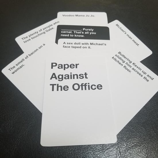 The Office Cards Against Humanity Deck From Etsy