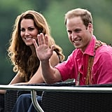 Prince William and Kate Middleton got casual while visiting the Solomon Islands in September 2012.