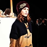 We loved this embellished beanie at Candela.
