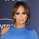Jennifer Lopez With Curtain Bangs