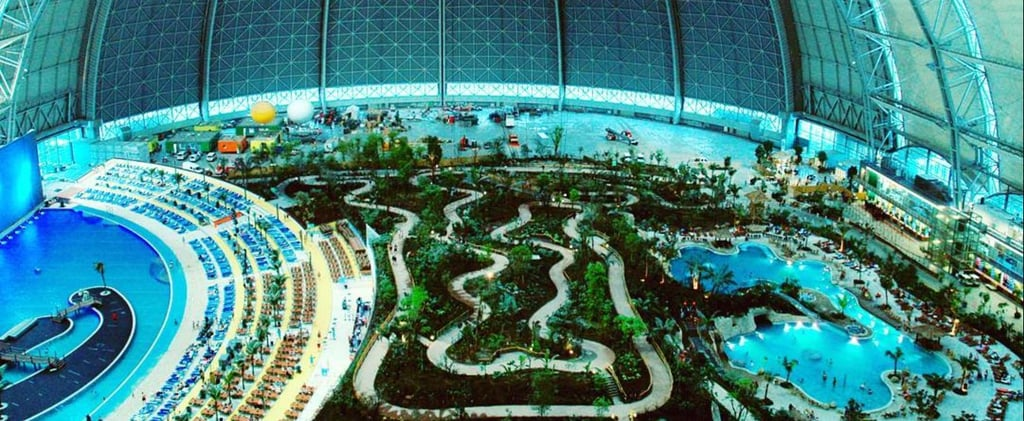 Germany's Massive Indoor Water Park Has a Tropical Forest and Mini Golf Course