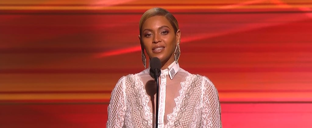 Just When You Think the Grammys Are Over, Beyoncé Shows Up