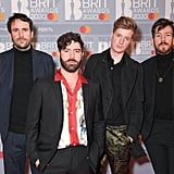 Foals at the 2020 BRIT Awards in London
