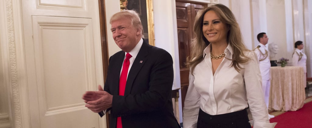 Melania Trump's Pants Have a Small, but Important Detail You Shouldn't Miss