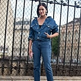 Go For Denim on Denim and Statement-Making Boots