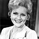In 1983, Betty White Experimented With False Lashes