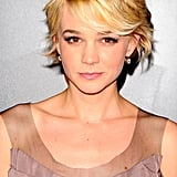 For the New York premiere of Wall Street: Money Never Sleeps, Carey sported a grown-out pixie that had plenty of texture.
