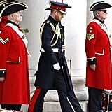 Prince Harry at the Founder's Day Parade June 2019
