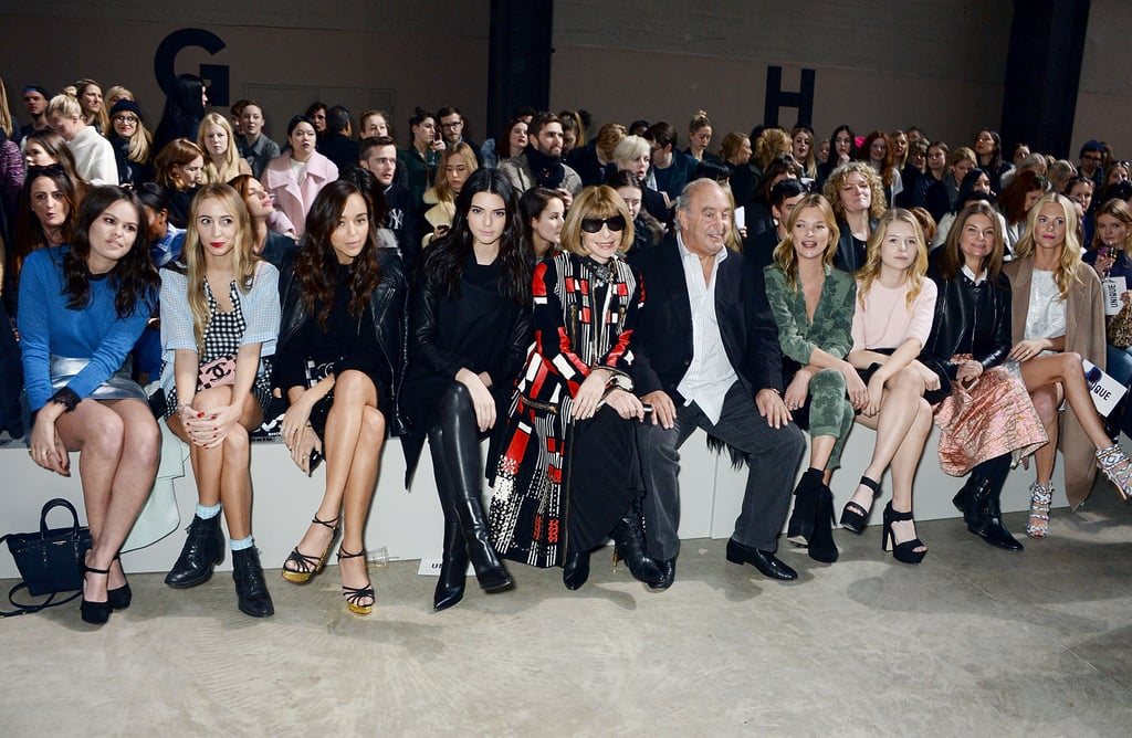 And When She's Not Walking, She's Sitting Front Row With Anna Wintour