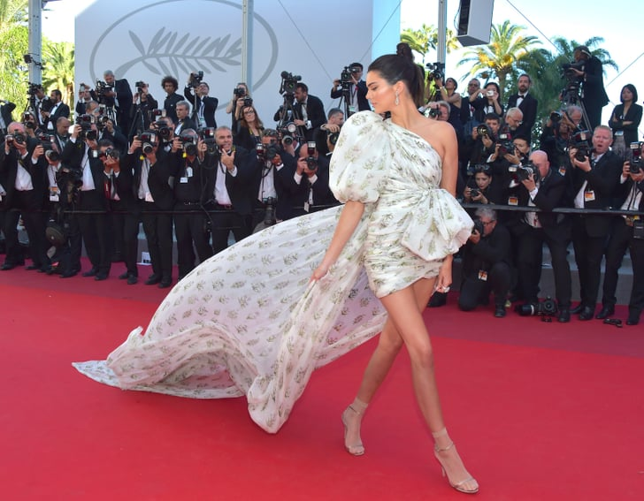 44cd358a Kendall Jenner Giambattista Valli Dress at Cannes 2017   POPSUGAR ...