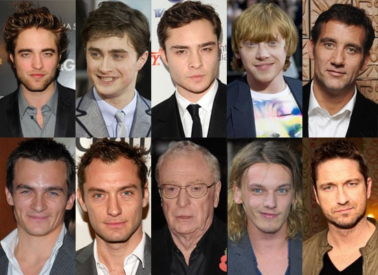 Best of 2009 Poll on British Actors — Who's Your Favourite? Robert Pattinson, Ed Westwick, Clive Owen, Gerard Butler,
