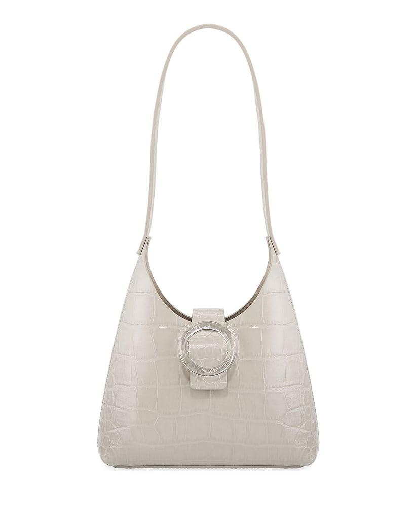 Imago-a Exclusive Lucite Buckle Shoulder Bag
