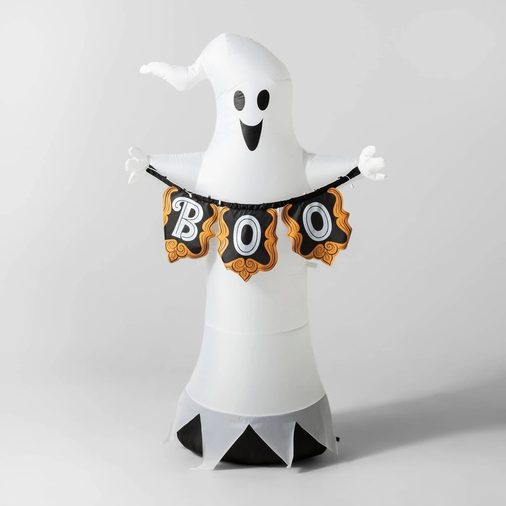 LED Ghost With Boo Banner