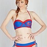 Superman Halter Bikini ($33, originally $60)