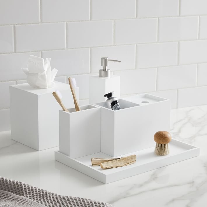 West Elm Lacquer Bath Accessories