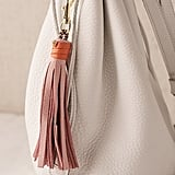 USB Leather Tassel Keychain + Charging Cord