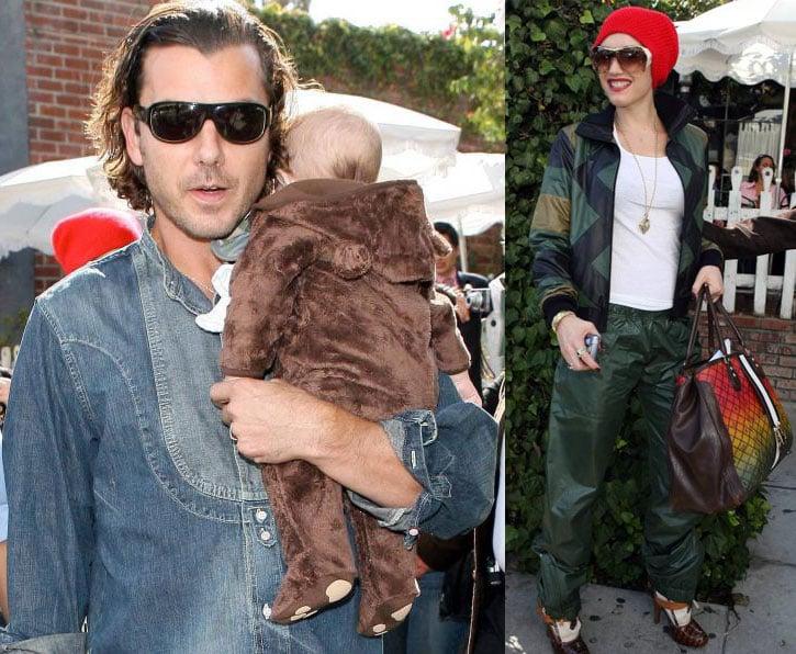 Gwen, Gavin and Baby Bear Kingston