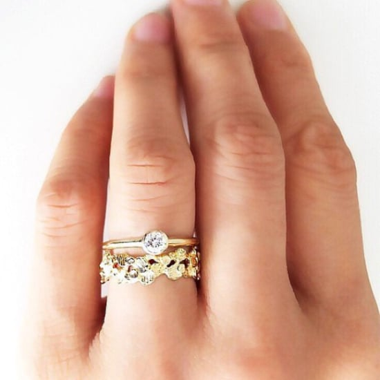 small engagement ring inspiration popsugar love sex - Small Wedding Rings