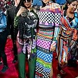 H.E.R. and Monica at the 2019 MTV VMAs