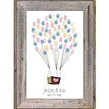 Balloon Fingerprint Guestbook