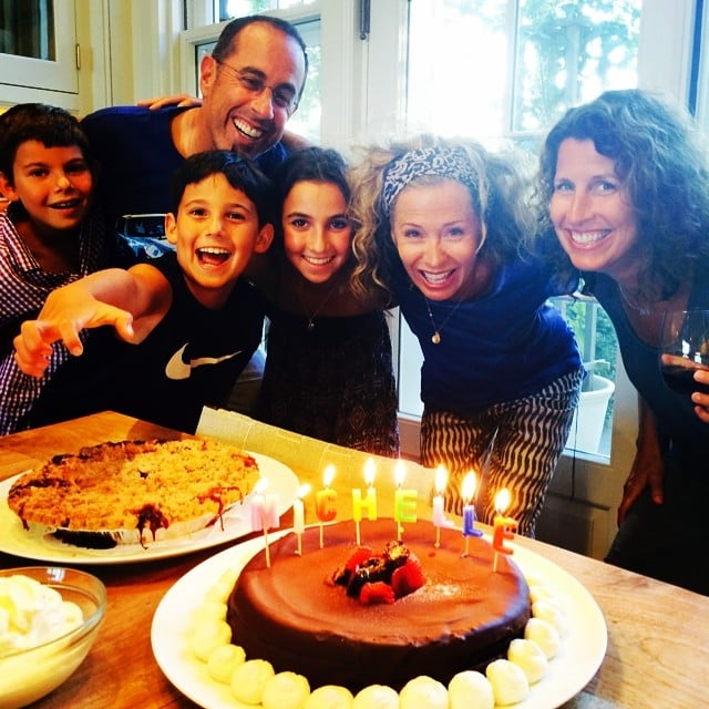 The Seinfeld family celebrated a friend's birthday with lots of tasty treats. Source: Instagram user jessseinfeld