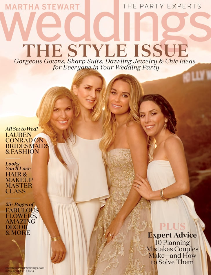 Lauren Conrad's Martha Stewart Weddings Cover