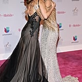 When Thalia and Gloria Trevi Hugged on the Red Carpet