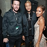 Pictured: Mark Wahlberg, Jaden Smith, and Jada Pinkett Smith