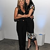Jennifer Aniston and Demi Moore at Five screening in NYC.