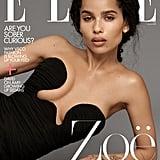 Zoë Kravitz on the Cover of Elle's February 2020 Issue