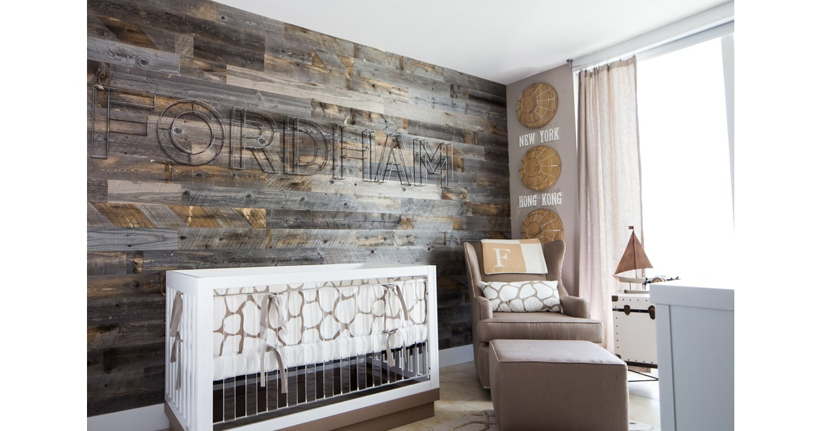 Reclaimed Wood Wall Nursery