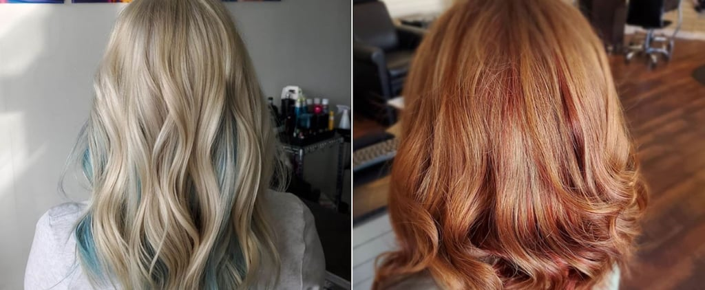 Inverted Hair Colour Ideas