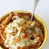 Three-Cheese Chicken and Pasta Bake