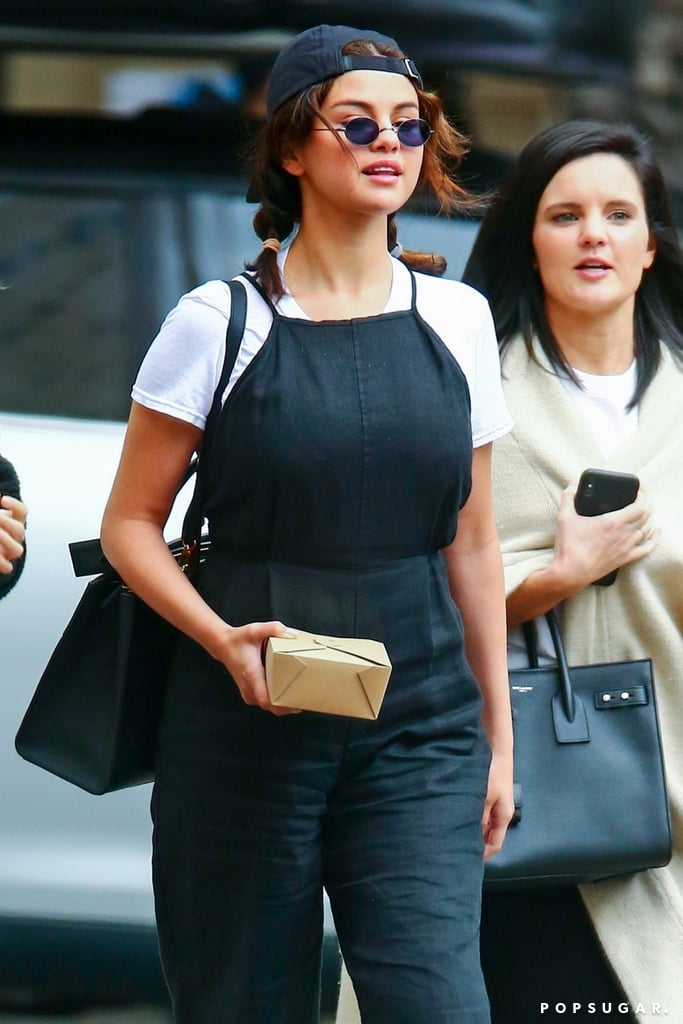 Selena Gomez's Jennifer Aniston Outfit May 2019