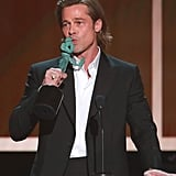 Brad Pitt at the 2020 SAG Awards