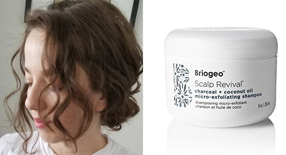 This Charcoal Shampoo Cured My Itchy, Painful Scalp and Transformed My Curls