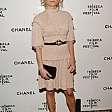 Diane Kruger looked natural at the Bowery Hotel for the Chanel dinner party during the Tribeca Film Festival in NYC in April 2007.