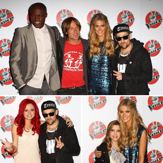 The Voice Coaches and Contestants Gather For a Pre-Grand Final Media Conference