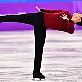Please Allow Patrick Chan to Demonstrate What a Perfect 90-Degree Angle Looks Like